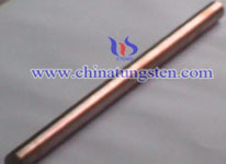 tungsten copper rod picture