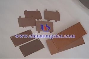 tungsten copper products picture