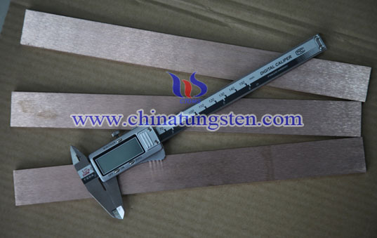 tungsten copper board file
