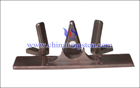 tungsten copper claw electrode