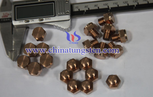 tungsten copper contacts