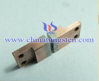 tungsten copper inlaid electrode picture