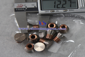 tungsten copper military contact tips picture
