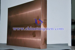 tungsten copper military product photo