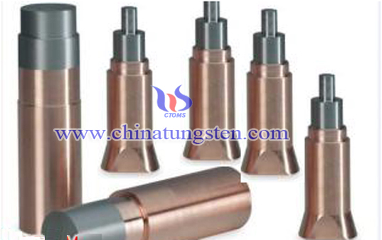 tungsten copper projection welding electrode