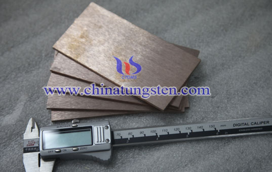 tungsten copper support plate