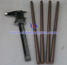 tungsten coppper rod picture